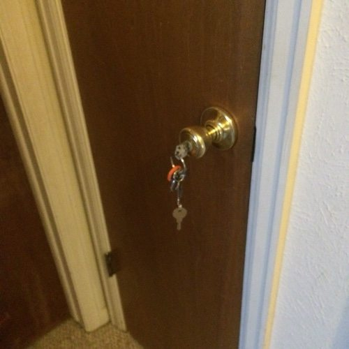 hall closet lock