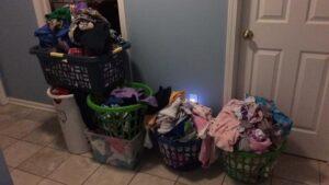 Nicole's laundry