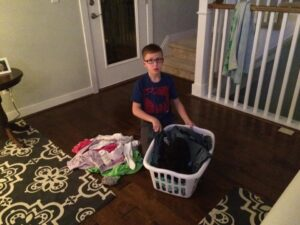 Sarah's laundry