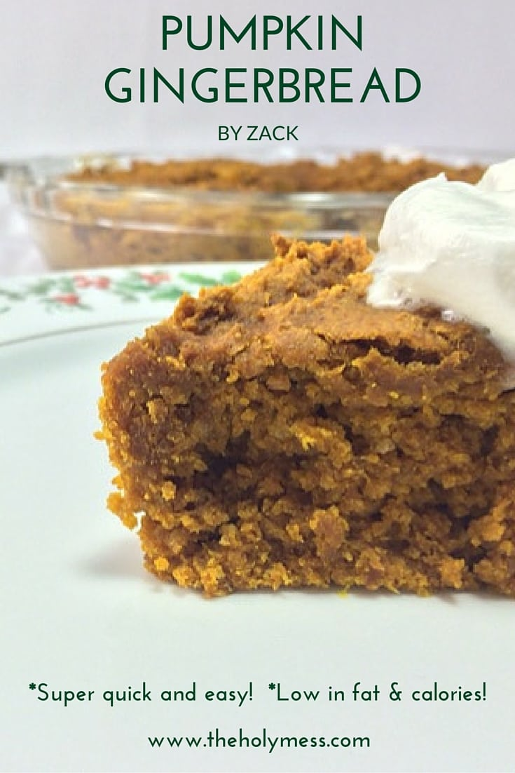 Pumpkin Gingerbread by Zack