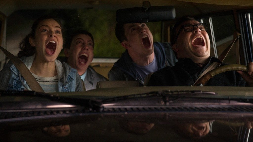 """Image from the movie """"Goosebumps"""""""