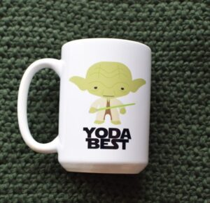 Yoda Best Customizable Coffee Mug