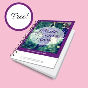 Abide in God's Love Cover Free