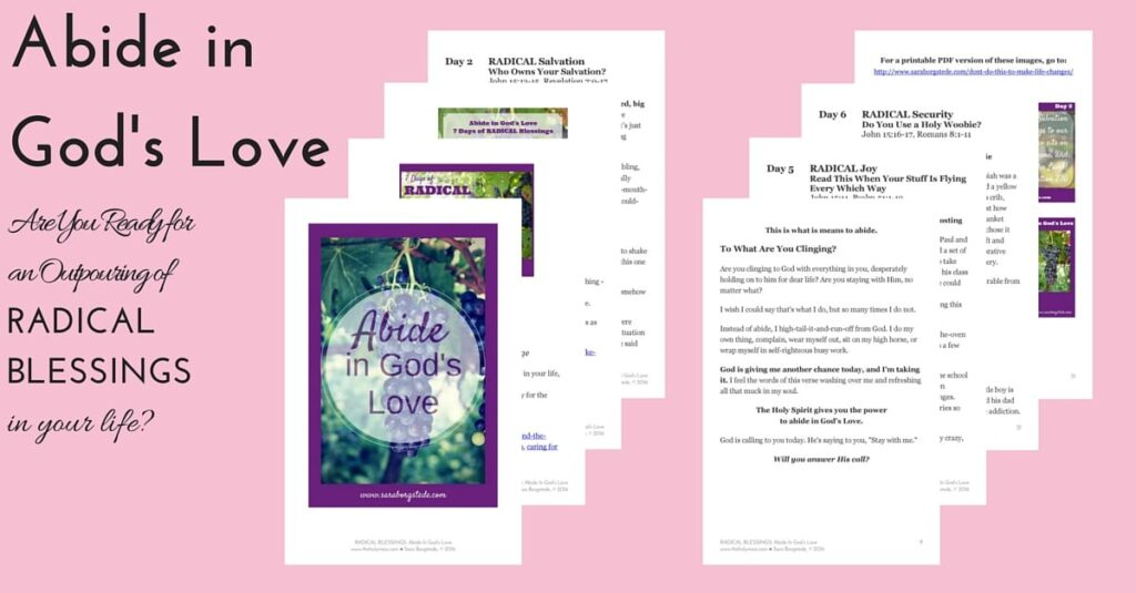 Abide in God's Love pages