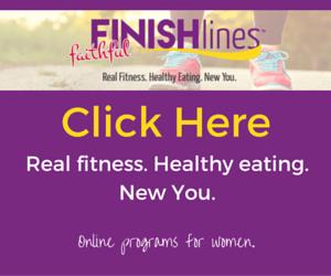 Faithful Finish Lines Ad