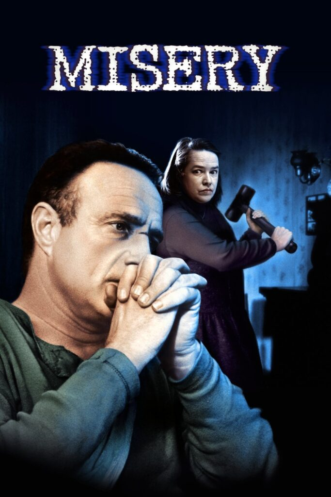 "Poster for the movie ""Misery"""