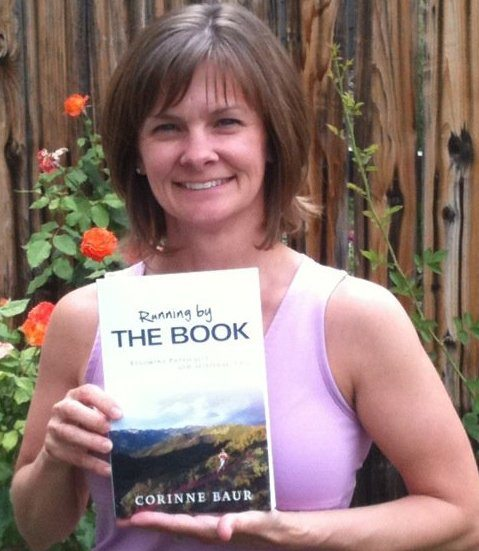 Corinne Baur with book