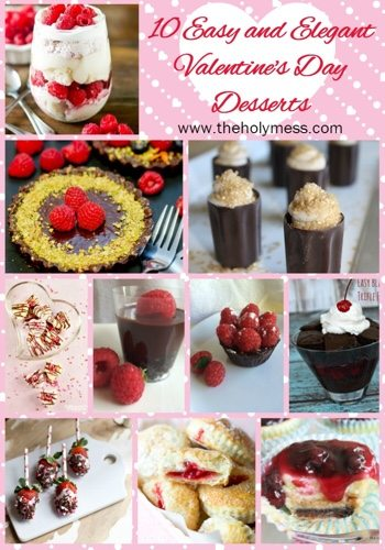 10 Easy and Elegant Valentine's Day Desserts