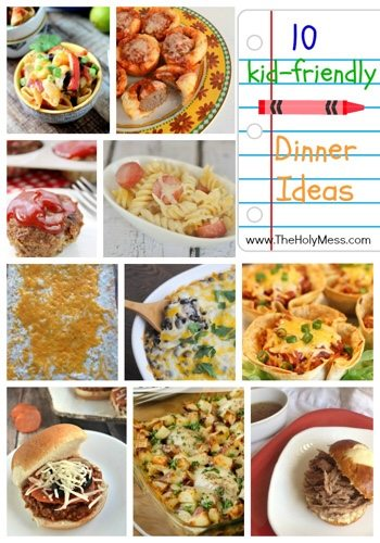 10 Kid-Friendly Family Dinner Recipes