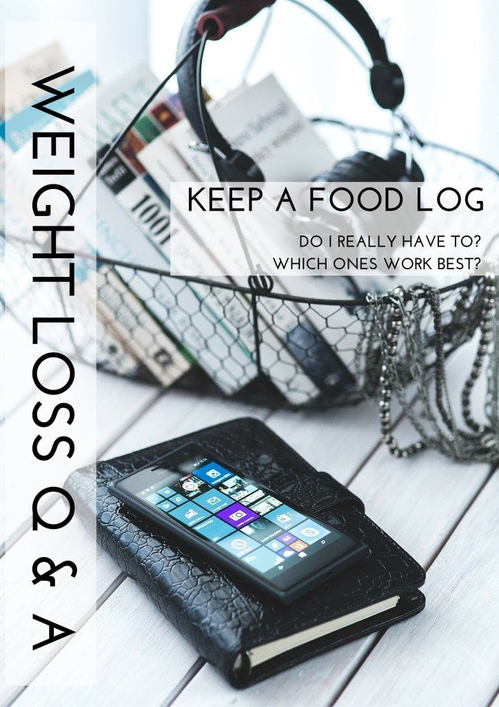 Weight Loss Q and A: Keep a Food Log|The Holy Mess