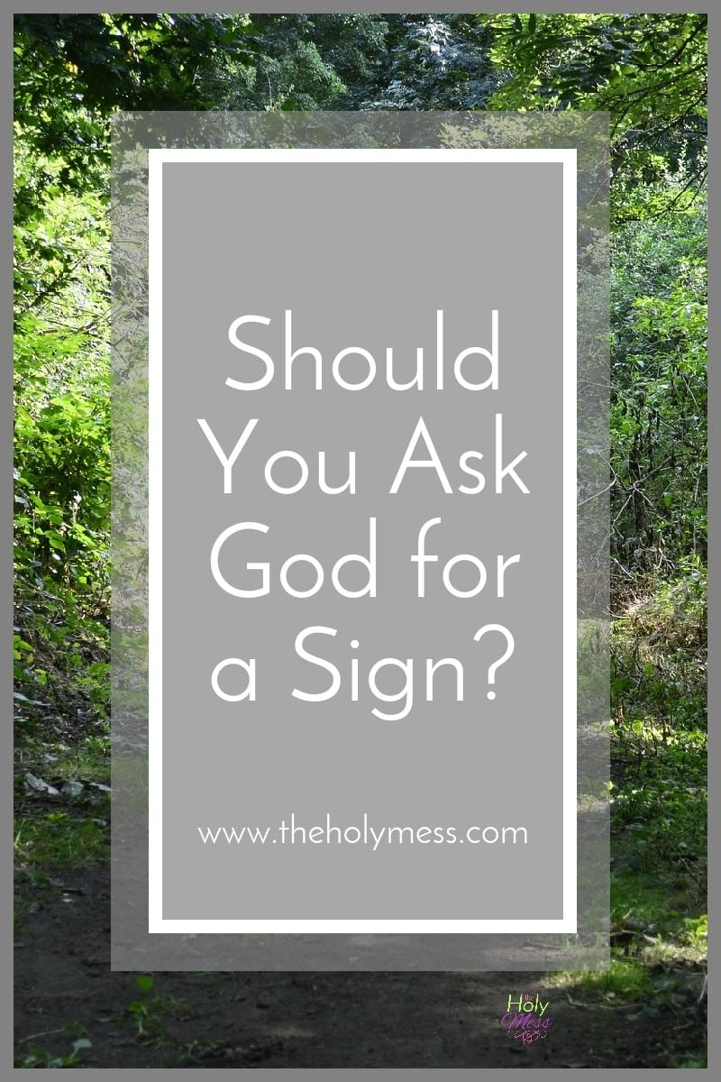 Should You Pray to God for a Sign? The Holy Mess