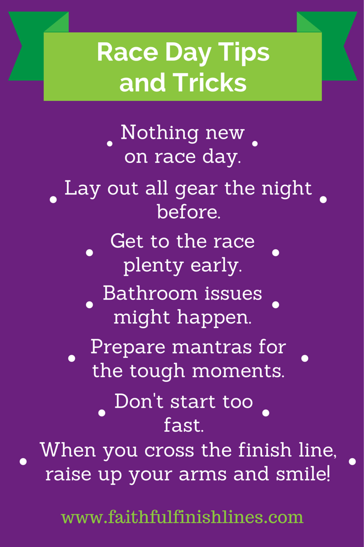 Race Day Tips & Tricks