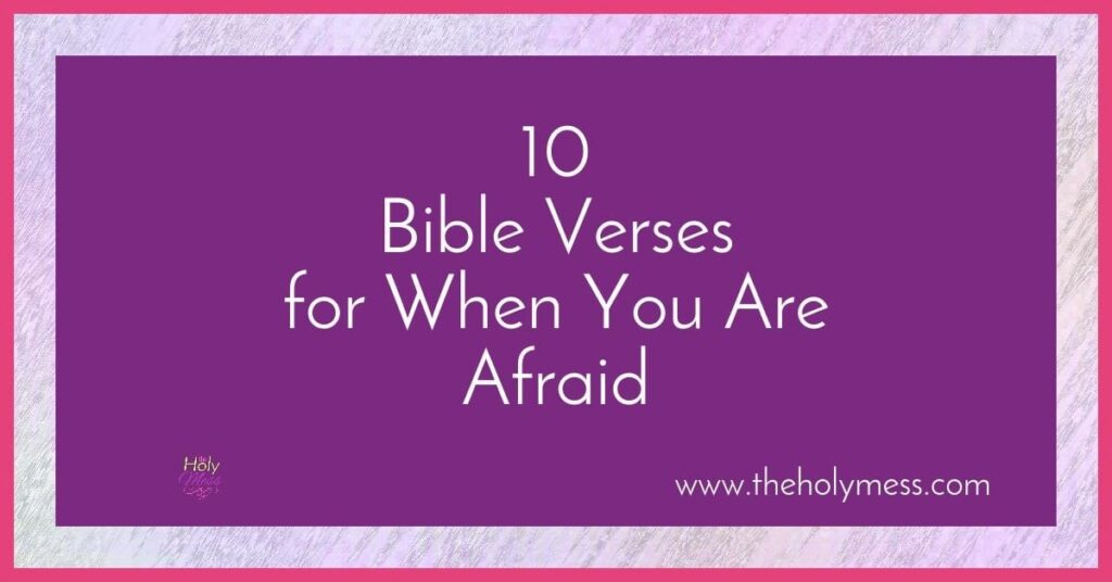 10 Bible Verses about worry and stress
