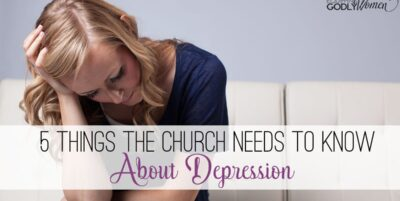 5 Things the Church Needs to Know About Depression The Holy Mess