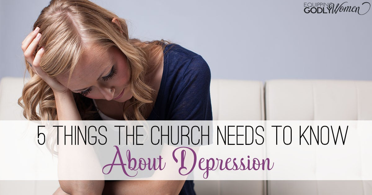 5 Things the Church Needs to Know About Depression|The Holy Mess