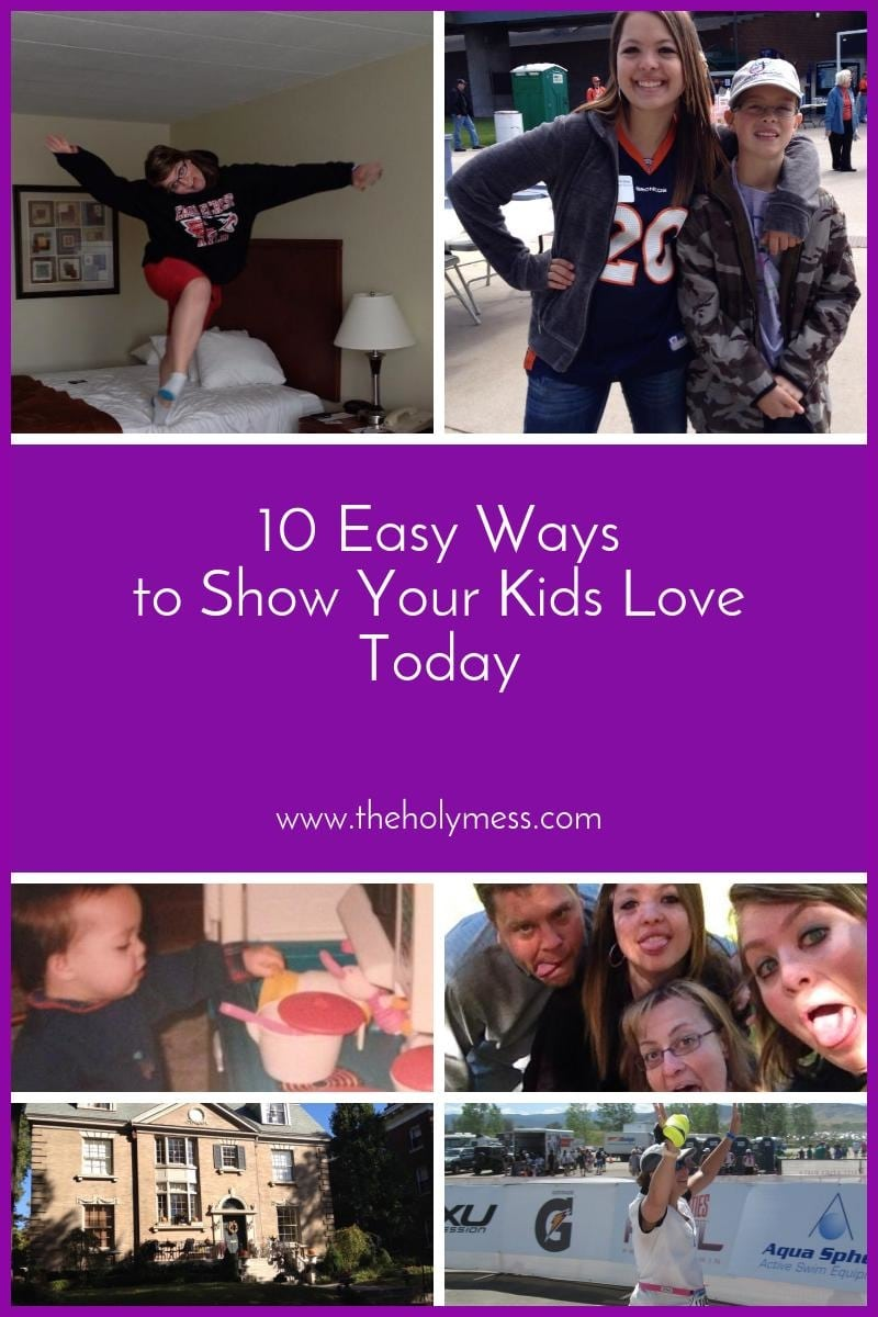 10 Easy Ways To Fix Your Door In Under An Hour: 10 Easy Ways To Show Your Kids Love Today