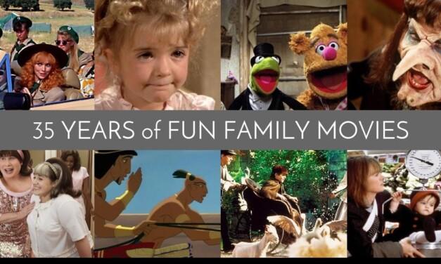 35 Years of Fun Family Movies: 1980-2014