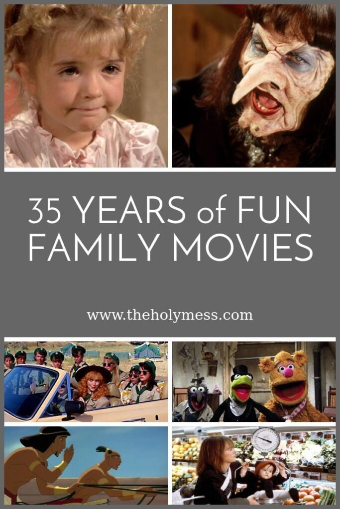35 Years of Fun Family Movies: 1980-1989|The Holy Mess