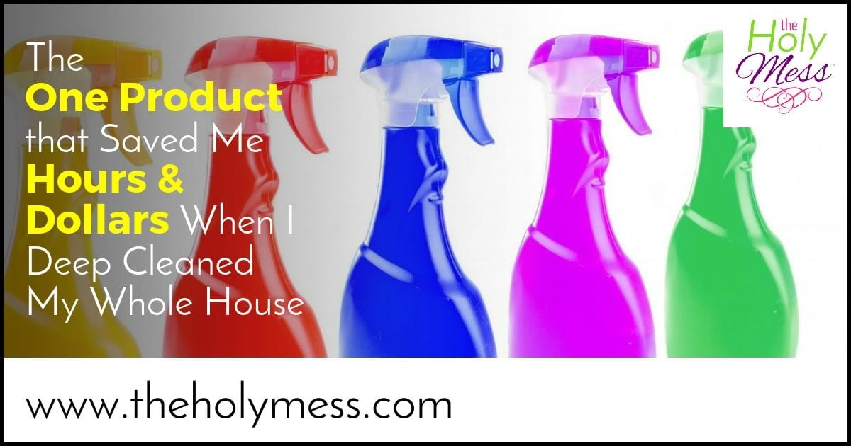 The 1 Product That Saved Me Hours and Dollars When I Deep Cleaned My Whole House