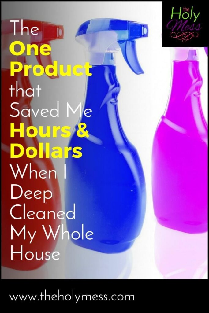 The 1 Product That Saved Me Hours and Dollars When I Deep Cleaned My Whole House|The Holy Mess