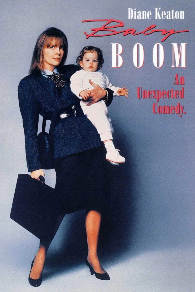 "Poster for the movie ""Baby Boom"""