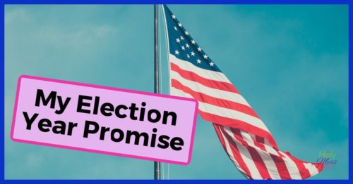 My Election Year Promise