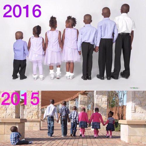 Ron Dren Family adopting 7