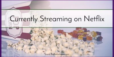 Currently Streaming on Netflix|Jeff Marshall|The Holy Mess