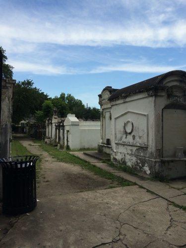 New Orleans cemetery, garden district