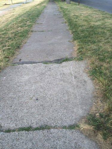 Older sidewalks