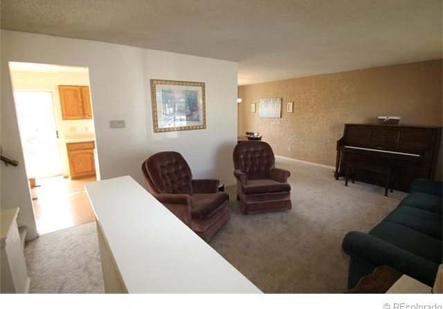 After photo, living room