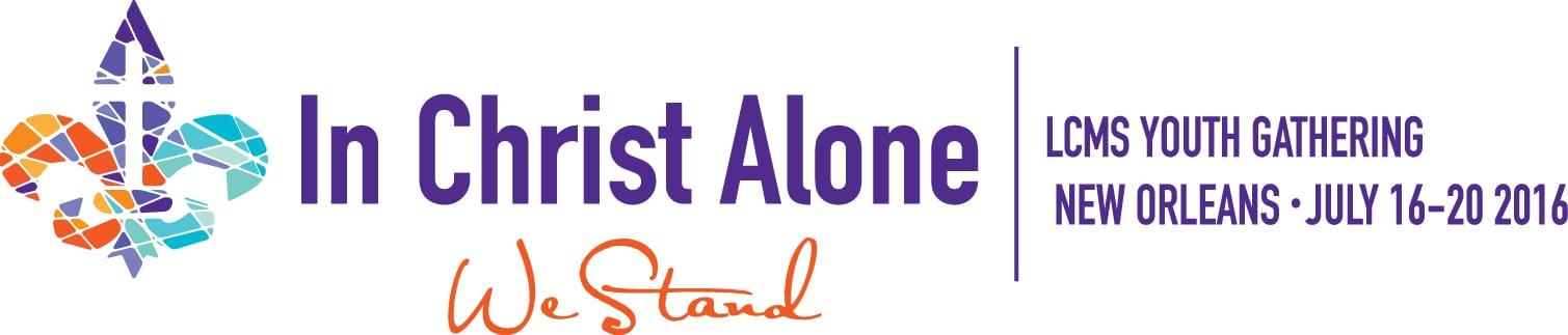 In Christ Alone Logo