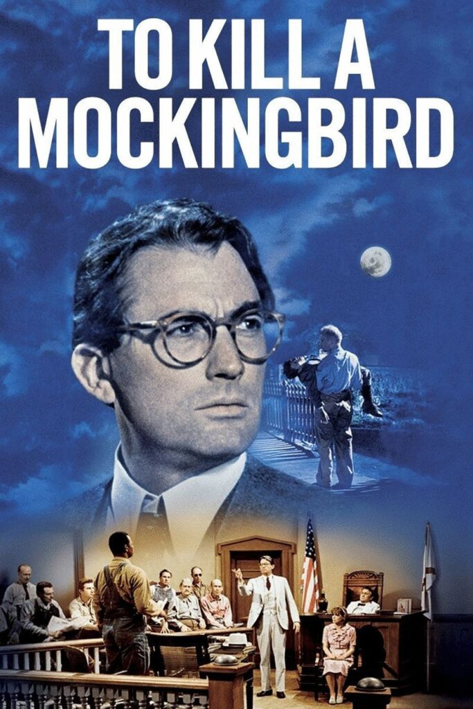 "Poster for the movie ""To Kill a Mockingbird"""