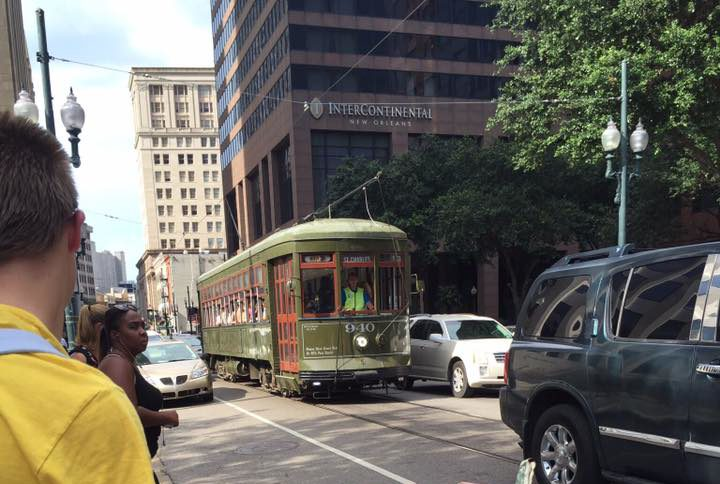 New Orleans trolley|The Holy Mess