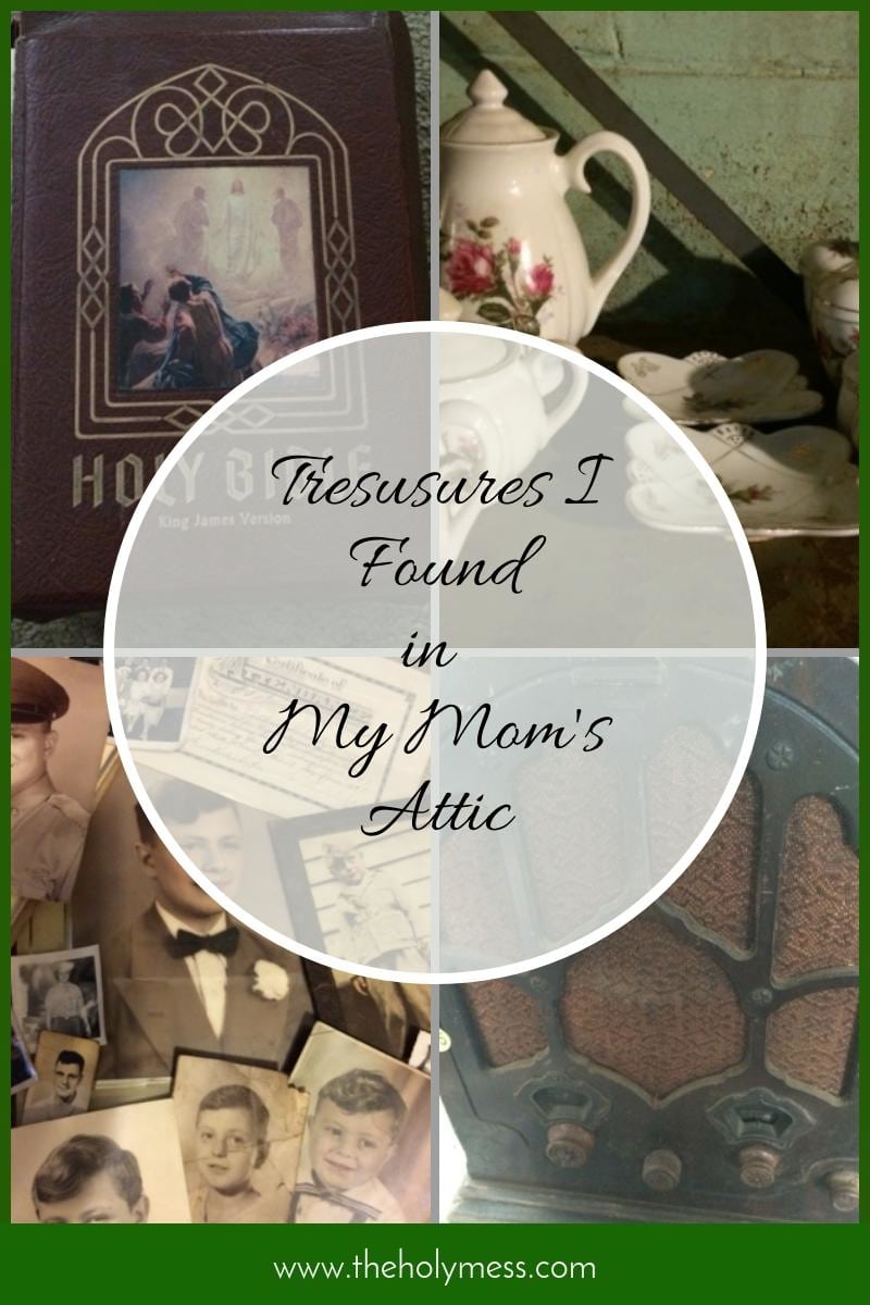 Treasures I Found in My Mom's Attic|The Holy Mess