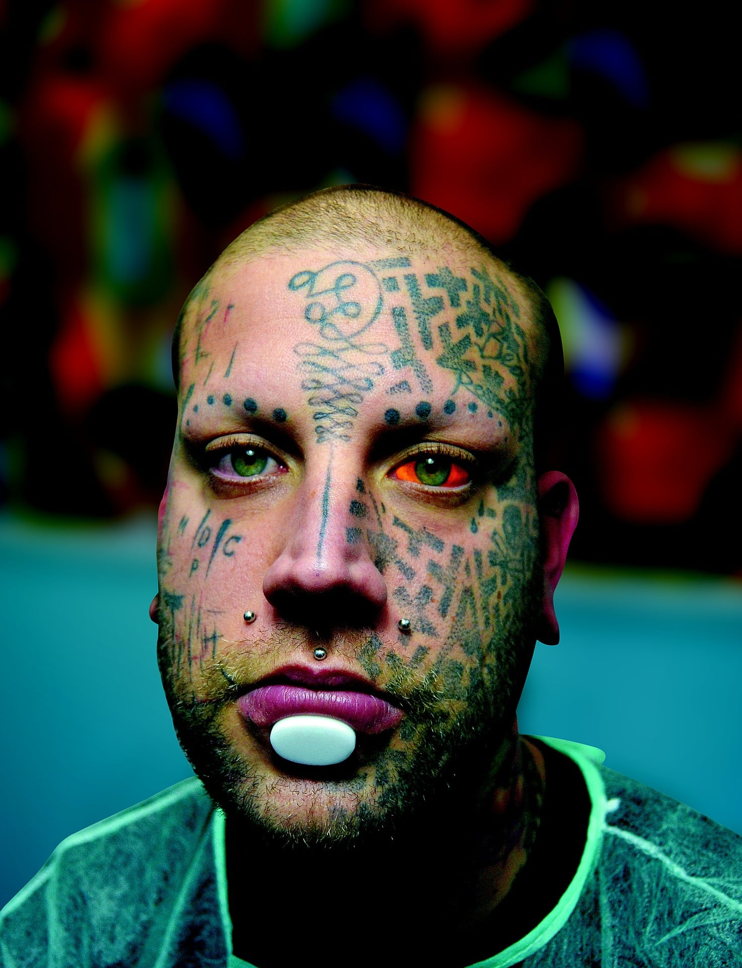 Tattoos on Face|The Holy Mess