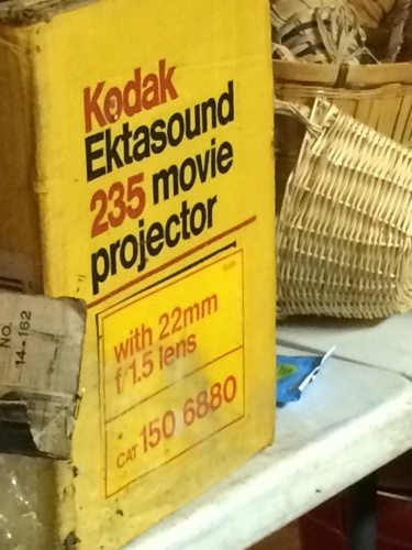 Kodak 235 movie projector