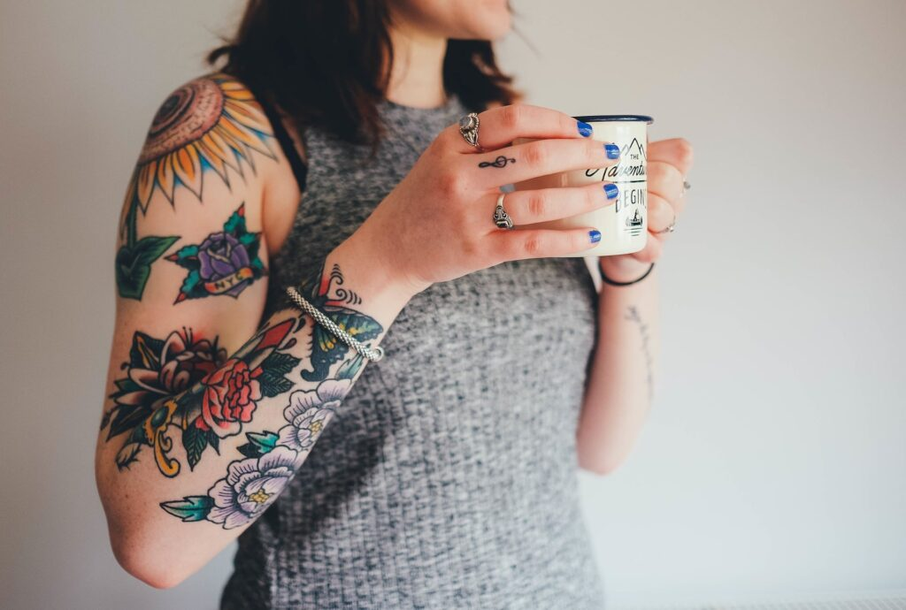 Color tattoos|The Holy Mess