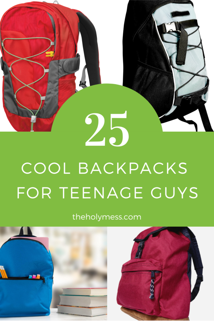 Cool backpacks for teenage guys