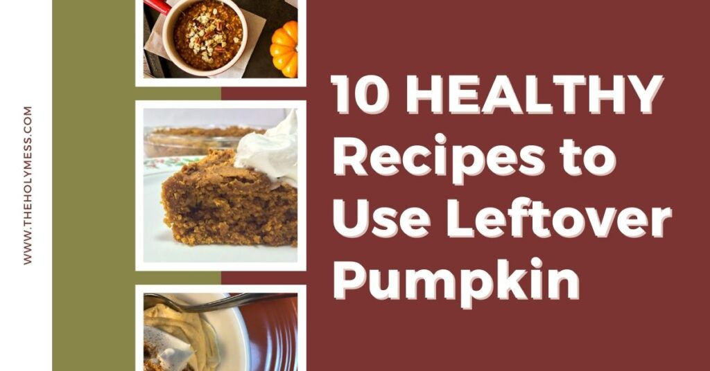10 Healthy Ways to Use Leftover Canned Pumpkin