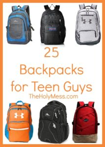 25 Backpacks for Teen Guys|The Holy Mess