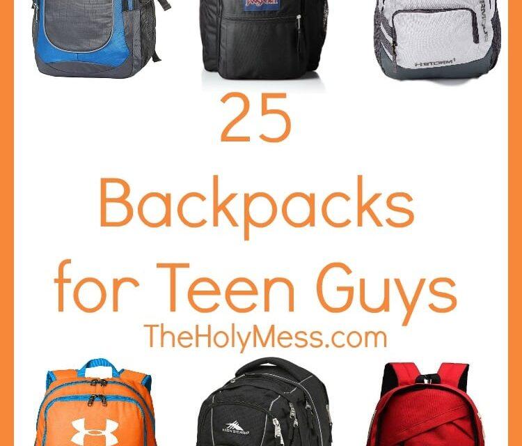 25 Backpacks for Teen Guys