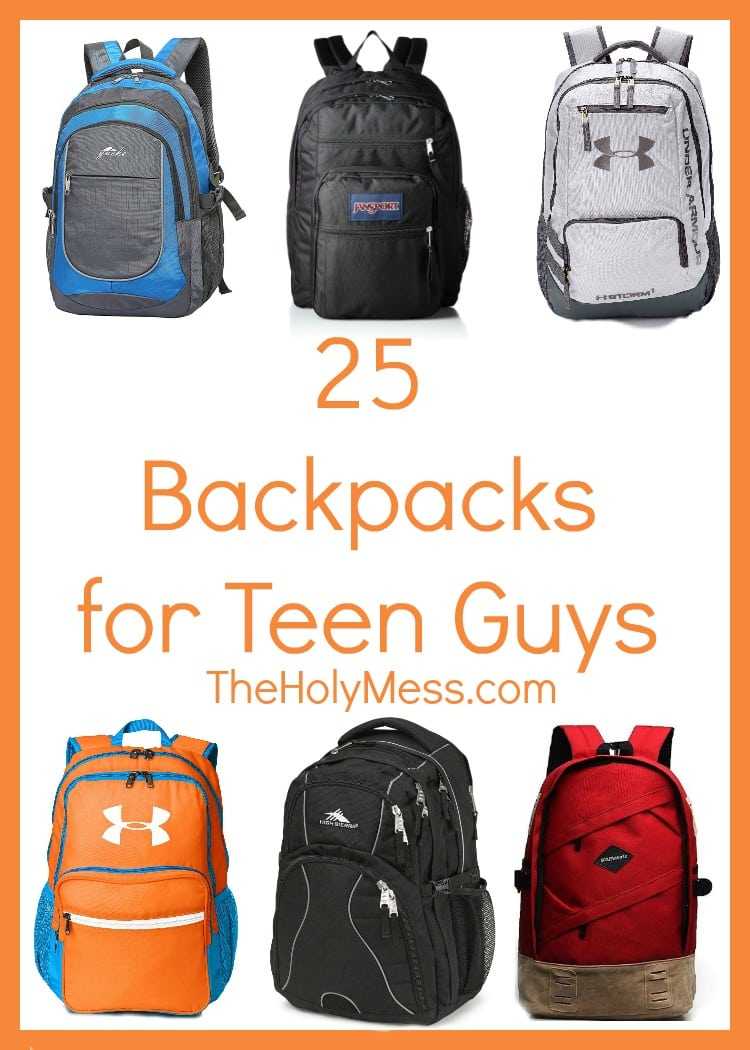 25 Backpacks for Teen Guys