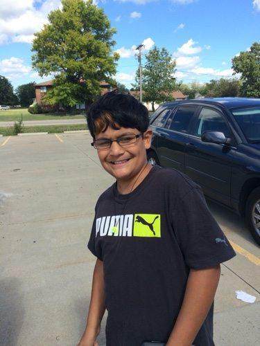 Paul in 7th grade.