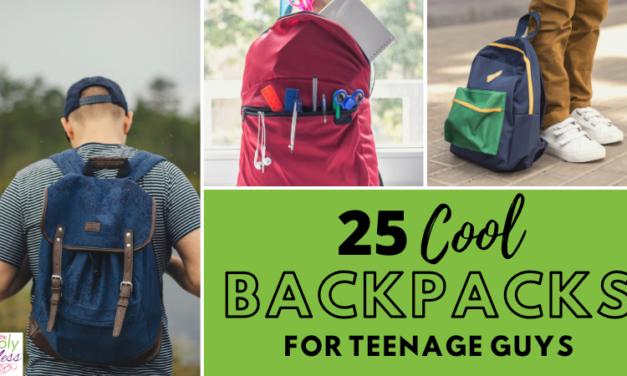cool backpacks for teenage guys