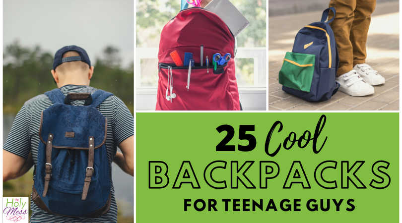 25 Cool Backpacks for Teenage Guys