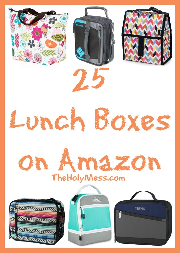 25 Lunch Boxes on Amazon