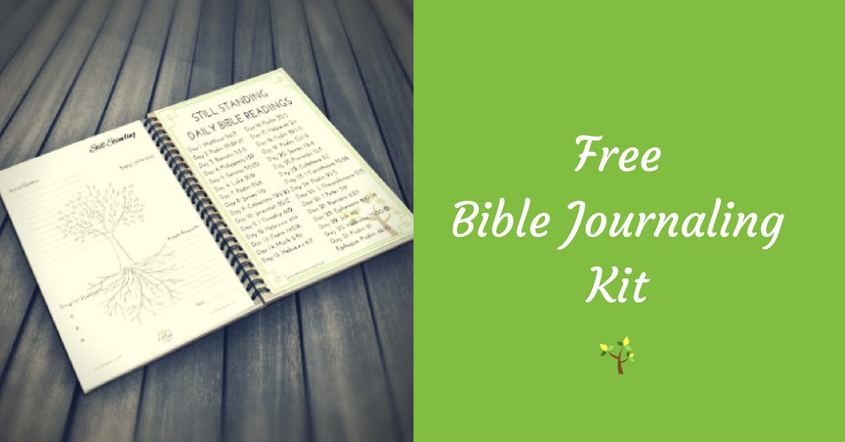 Still Standing Free Journaling Kit|The Holy Mess
