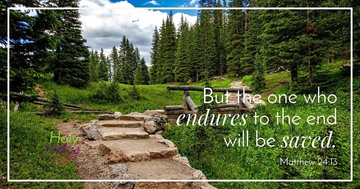 But the One Who Endures to the End Will Be Saved|The Holy Mess