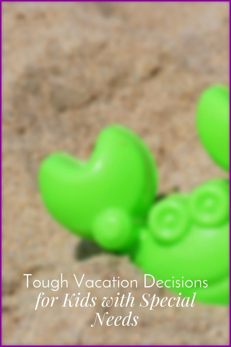 Tough Vacation Decisions for Special Needs Kids|The Holy Mess